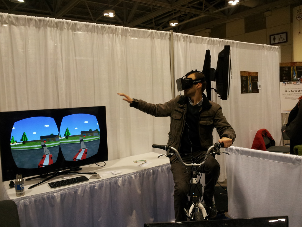 What Does VR Cycling Look Like?